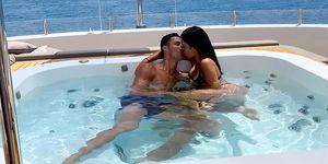 Las vacaciones de Cristiano Ronaldo y Georgina