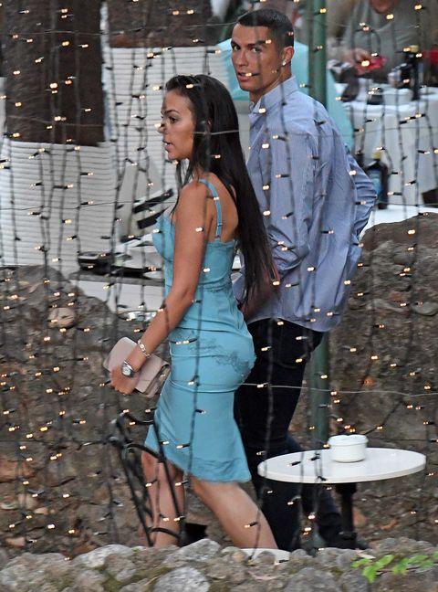 Cristiano Ronaldo y Georgina de vacaciones en Marbella