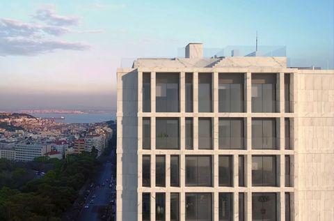 vista de la casa que el portugués se ha comprado en la capital de portugal
