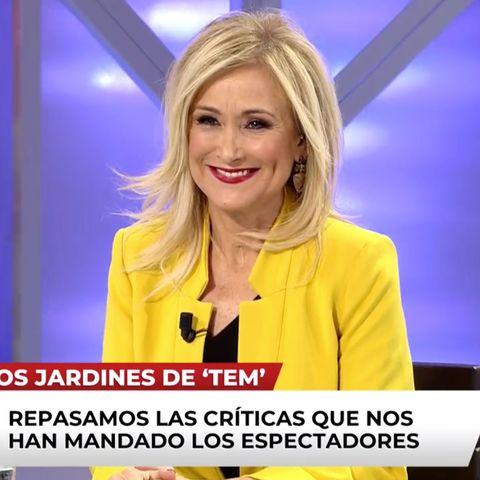 Cristina Cifuentes en el programa de televisión Todo es mentira