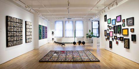 Interior design, Floor, Building, Room, Ceiling, Flooring, Furniture, Architecture, Living room, Loft,