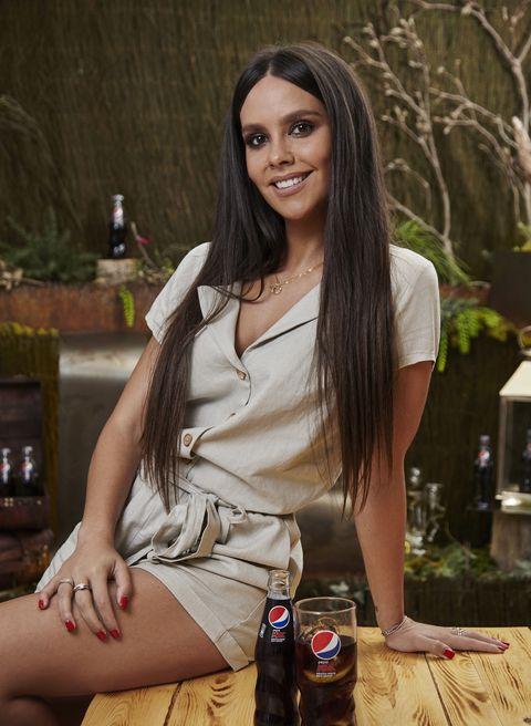 Cristina Pedroche en el reto del sabor de Pepsi.