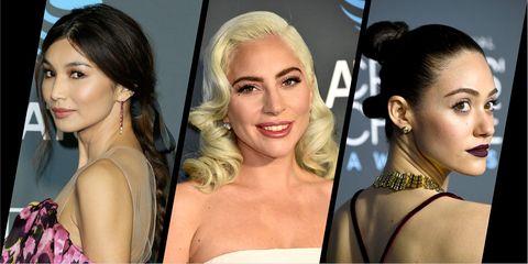 Critics' Choice awards 2019 beauty looks