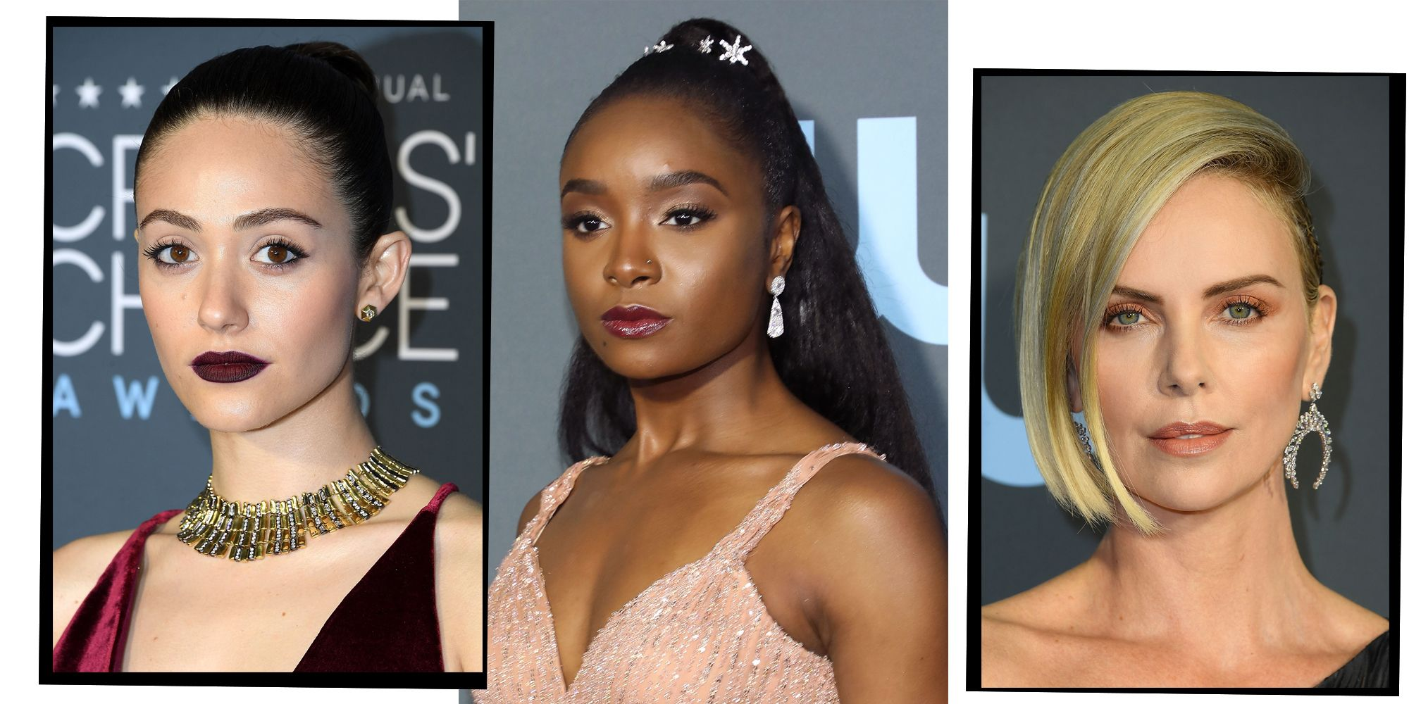 Every Major Hair And Make-Up Look Direct From The Critics' Choice Awards 2019 Red Carpet
