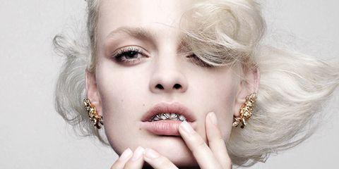 Hair, Beauty, Lip, Blond, Hairstyle, Skin, Fashion, Fashion model, Eyelash, Photo shoot,