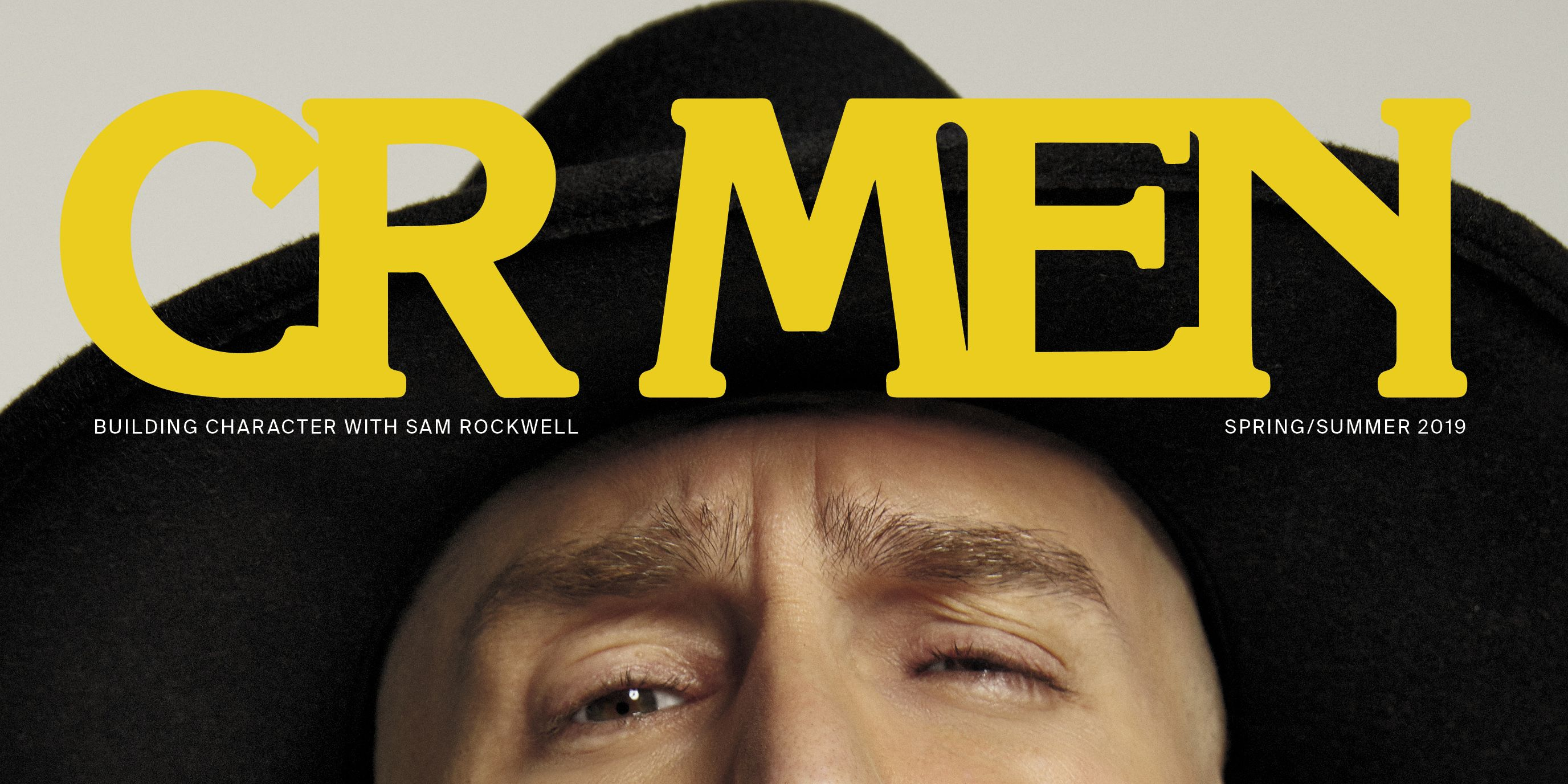Sam Rockwell Roe Ethridge  CR MEN
