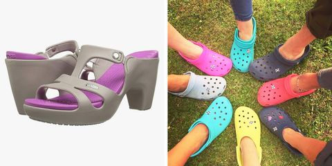 96c50ab0c7f3 High-Heeled Crocs Are a Thing You Can Now Buy