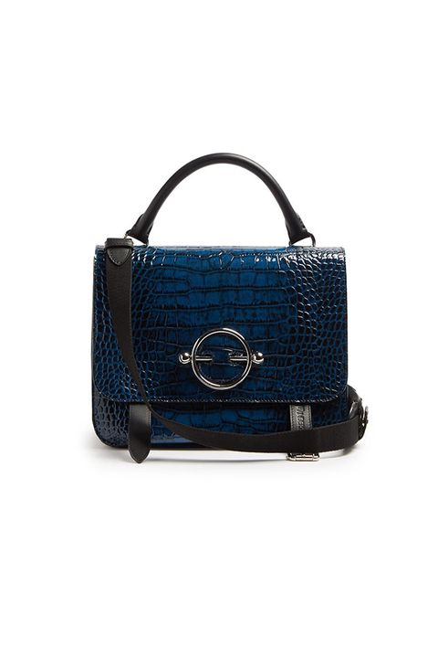 Handbag, Bag, Blue, Fashion accessory, Leather, Product, Cobalt blue, Electric blue, Shoulder bag, Satchel,