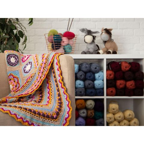 Beaulieu Blanket by Jacqui Goulbourn