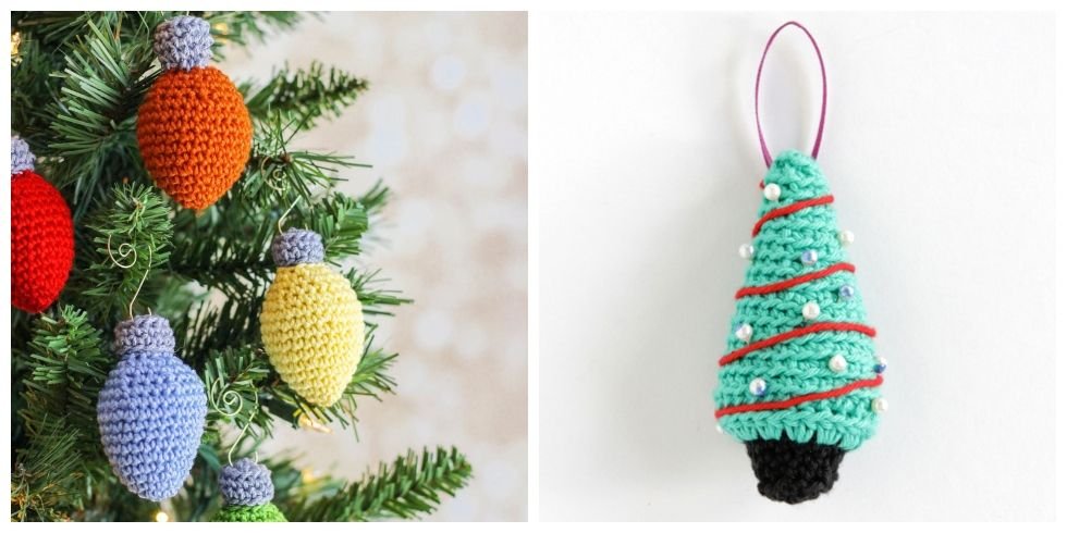 12 Crochet Christmas Ornaments - Easy Crochet Ornament Patterns