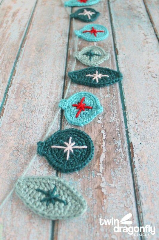 12 Crochet Christmas Ornaments Easy Crochet Ornament Patterns