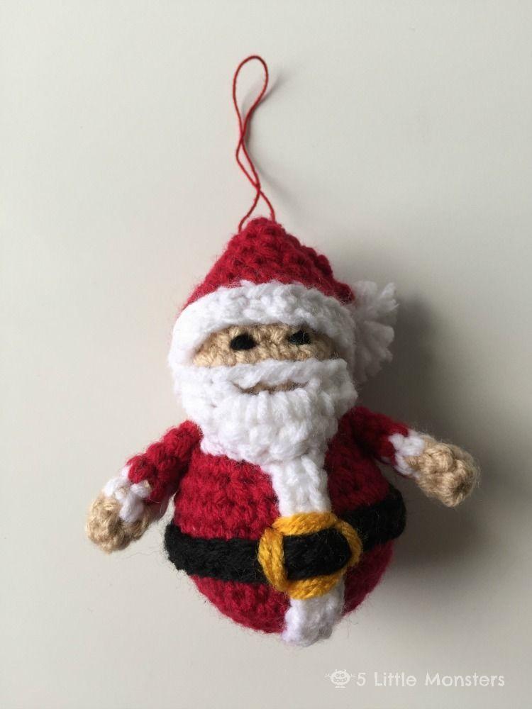 - 12 Crochet Christmas Ornaments - Easy Crochet Ornament Patterns