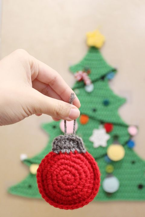 crochet christmas ornaments traditional