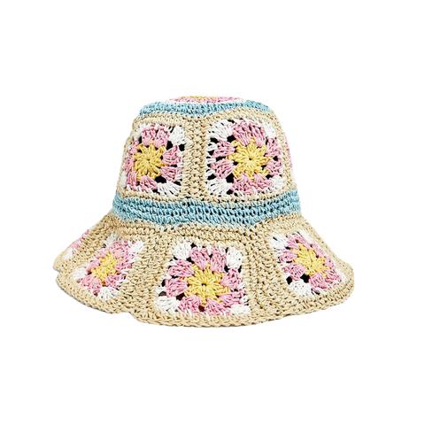 zomerhoeden trend  crochet hoed