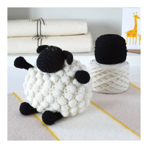 Luxury Bobble Sheep Crochet Kit
