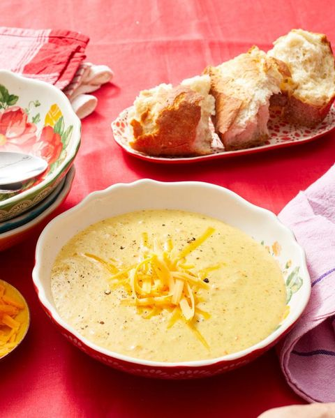 crock pot soup recipes slow cooker broccoli cheese