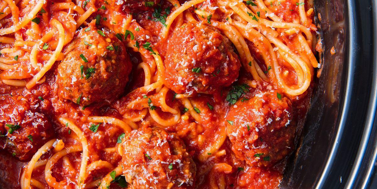 Best Crock Pot Spaghetti Recipe How To Make Spaghetti In A Slow Cooker
