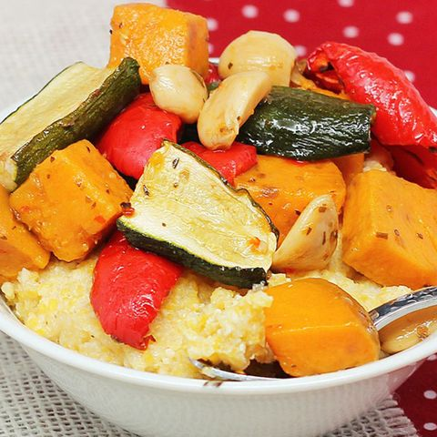 crockpot roasted veggies