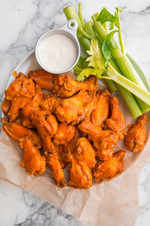 Dish, Food, Cuisine, Ingredient, Fried food, Buffalo wing, Meat, Recipe, Produce, appetizer,