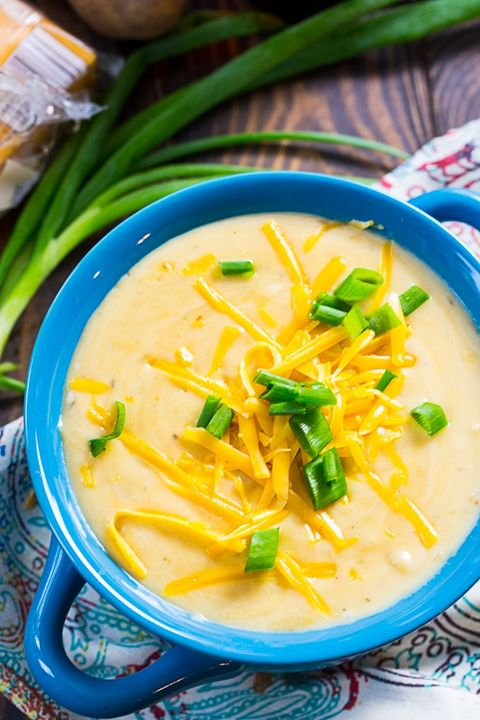 crockpot soup potato beer cheese