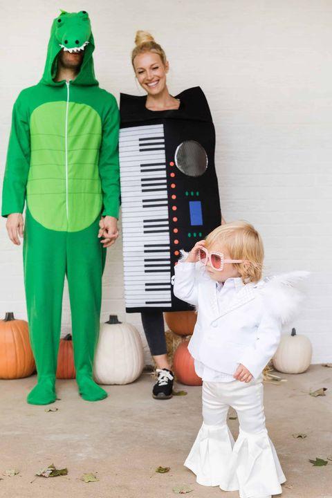 crocodile rock family halloween costume