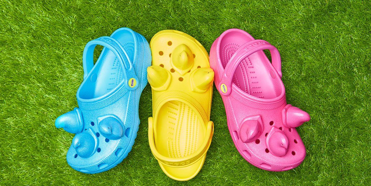 Crocs Made A Peeps-Inspired Shoe That Comes In Three Colors