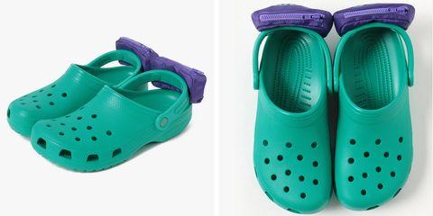Footwear, Green, Slipper, Shoe, Aqua, Turquoise,
