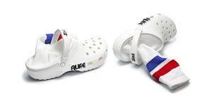 alife crocs with socks