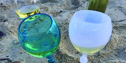 Water, Blue, Green, Glass, Cobalt blue, Plastic bottle, Bottle, Stemware, Drink, Wine glass,