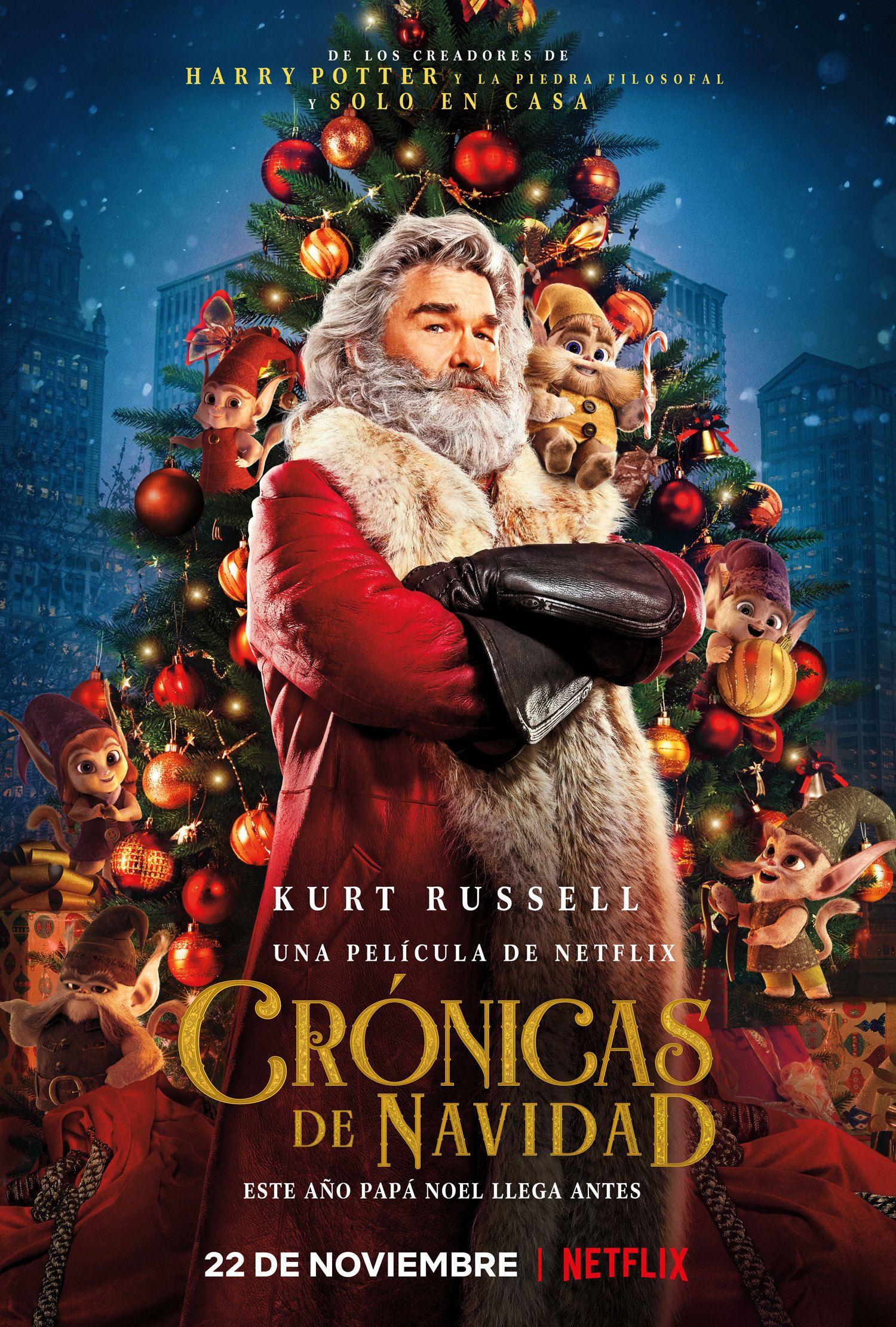 Netflix ya tiene película para estas Navidades - Cronicas de Navidad Netflix