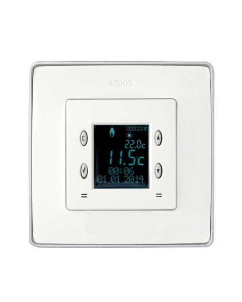cronotermostato digital con control manual o automático de la calefacción refrigeración