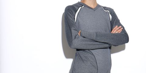 Clothing, Product, Sleeve, Collar, Shoulder, Standing, Textile, Joint, White, Sweater,