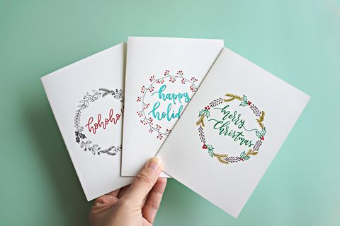 Christmas card message: What to write in a Christmas card