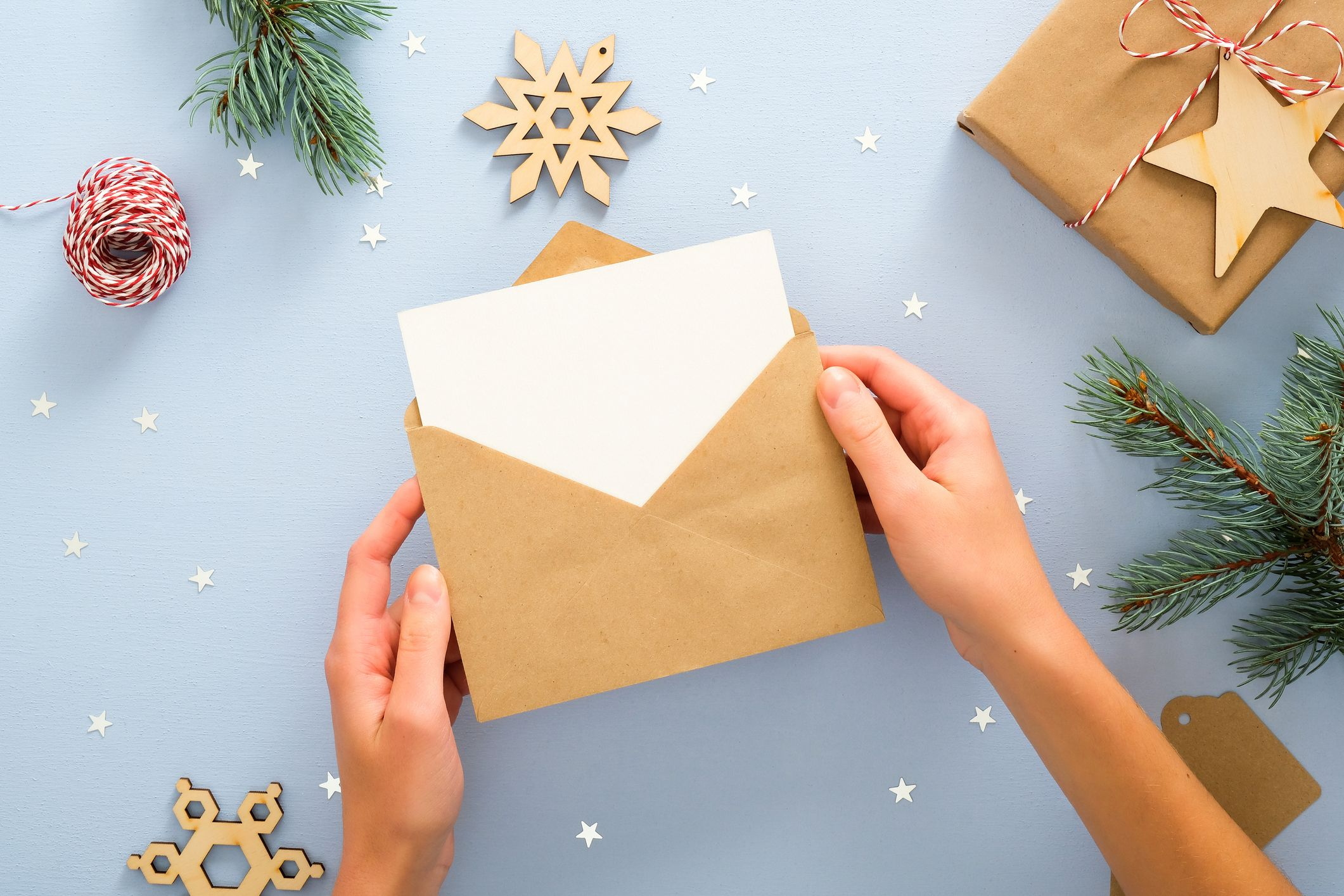 Christmas card message: What to write