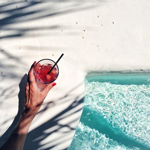 bebida piscina