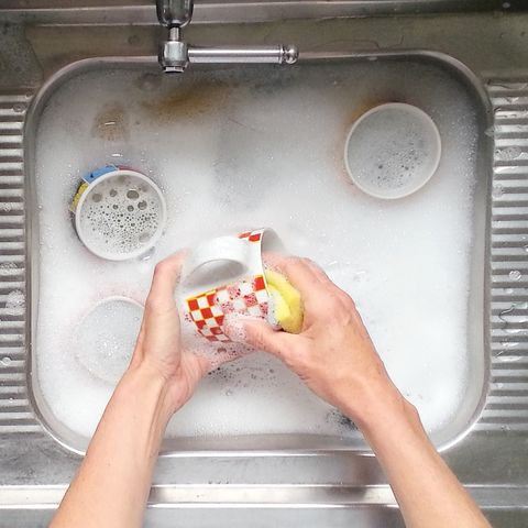 This Sustainable Dish Cleaning Hack Will Save Your Life