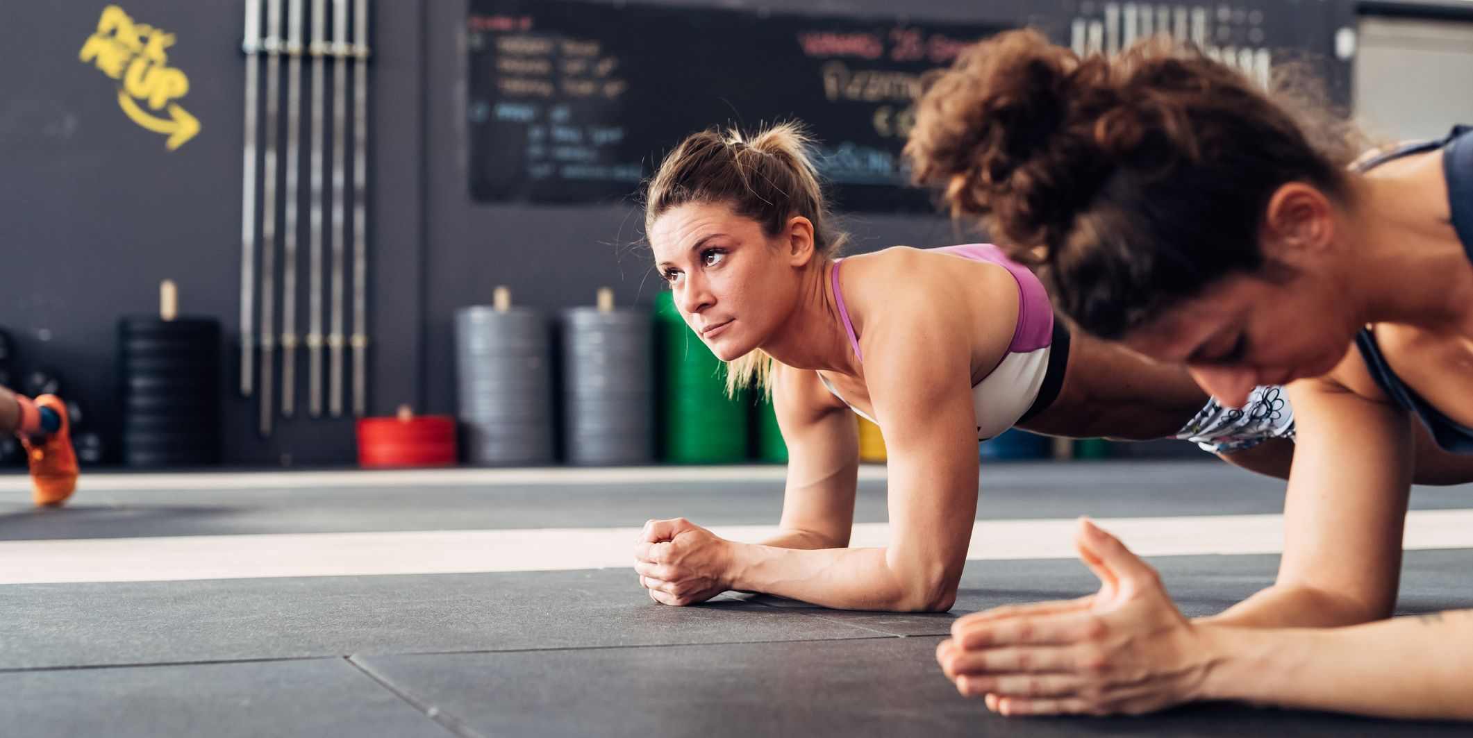 can planking help your running