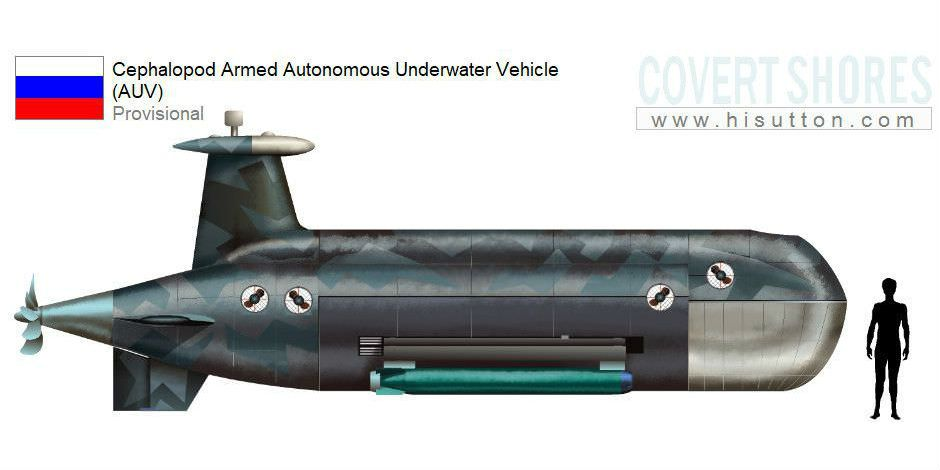 Russia Working On New Cephalopod Underwater Attack Drone