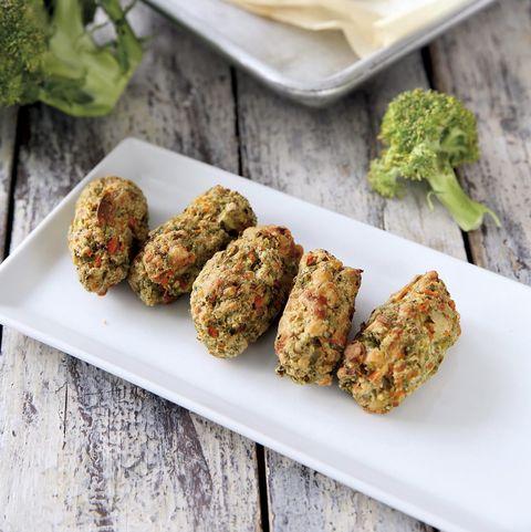 croquetas de brócoli al horno