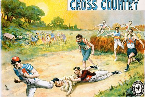 Cross Country Poster by Candido de Faria