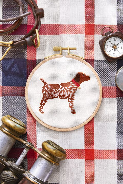 Free cross stitch patterns printable cross stitch templates free cross stitch pattern hunting dog solutioingenieria Choice Image