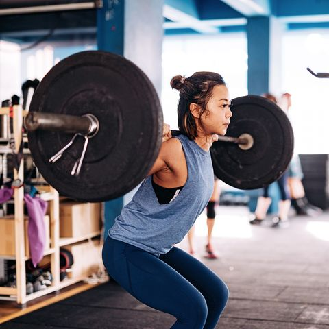 Cross training and weight lifting