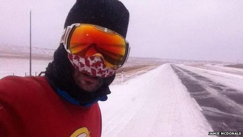 Man Finishes Self-Supported Run Across Canada