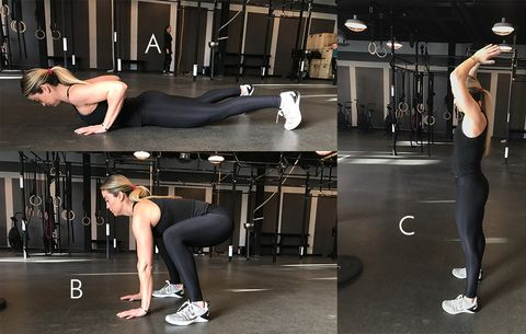 crossfit moves for women