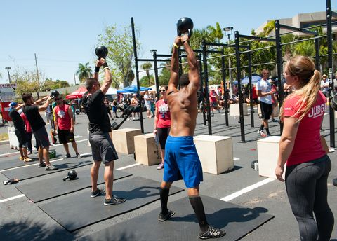 first annual Revolutionary Game Crossfit competition