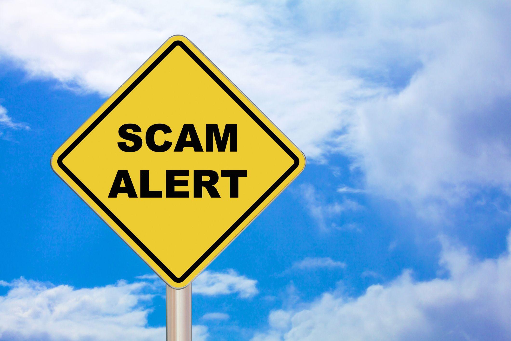 Self-assessment phishing scam alert