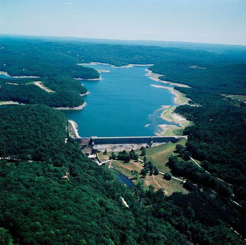 croton reservoir and hudson river