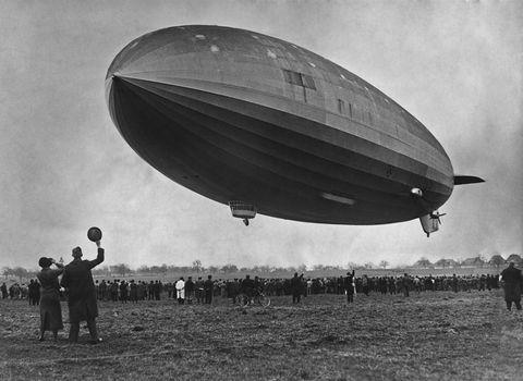 First Hindenburg Flight