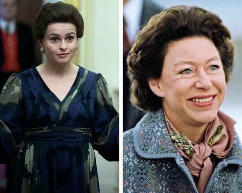 helena bonham carter princess margaret the crown season 4