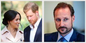 crown prince haakon prince harry meghan markle